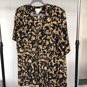 Christie & Jill Blouse (with shoulder pads), XL